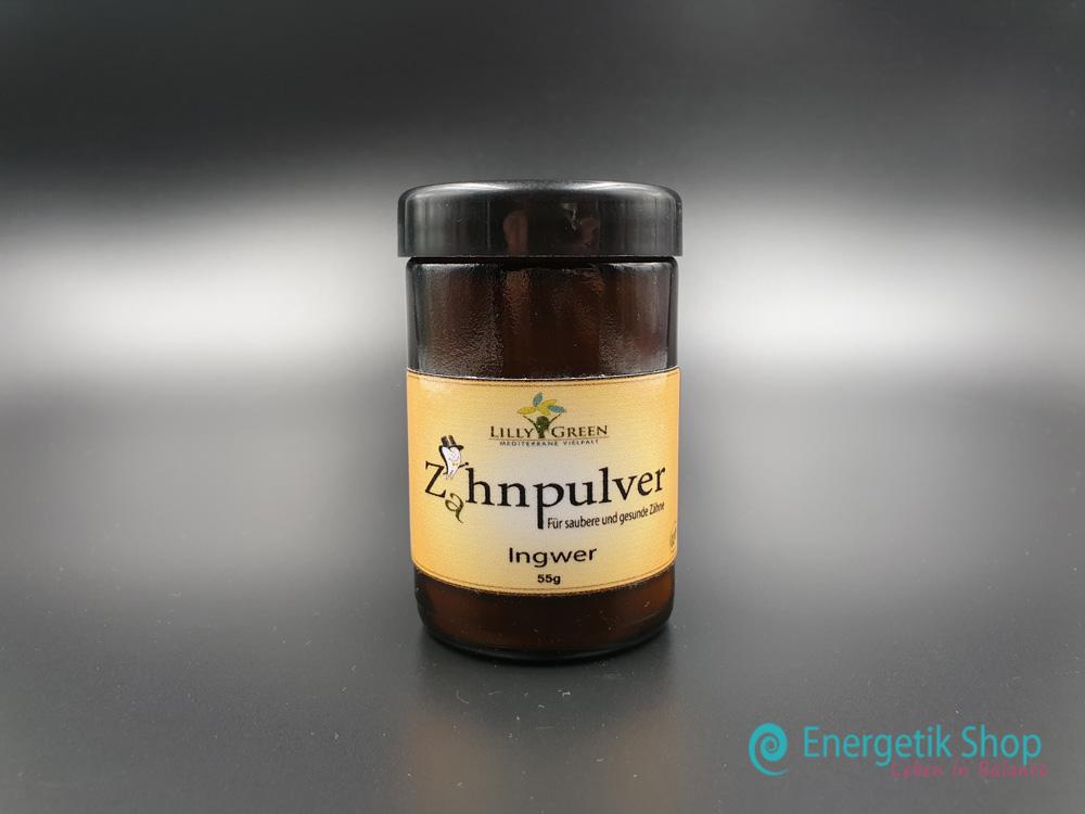 Zahnpulver-Ingwer