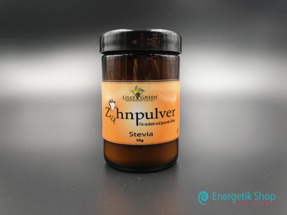 Zahnpulver-Stevia