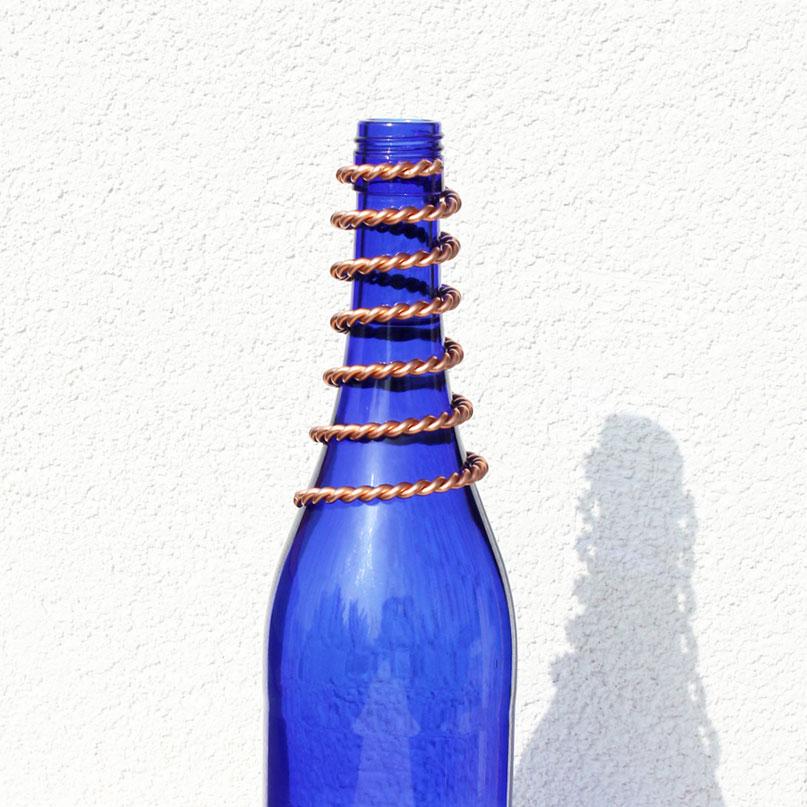 Kupferspirale für Wasserflasche