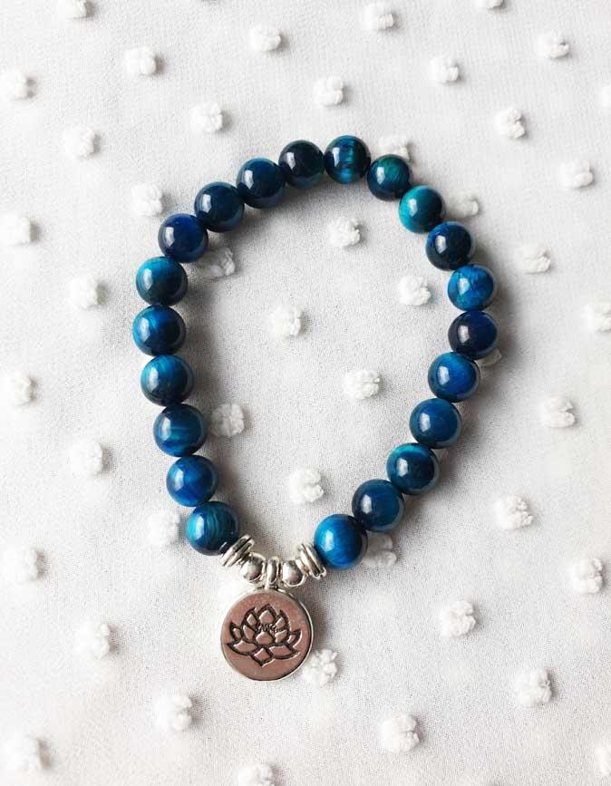 Yoga Armband Blau