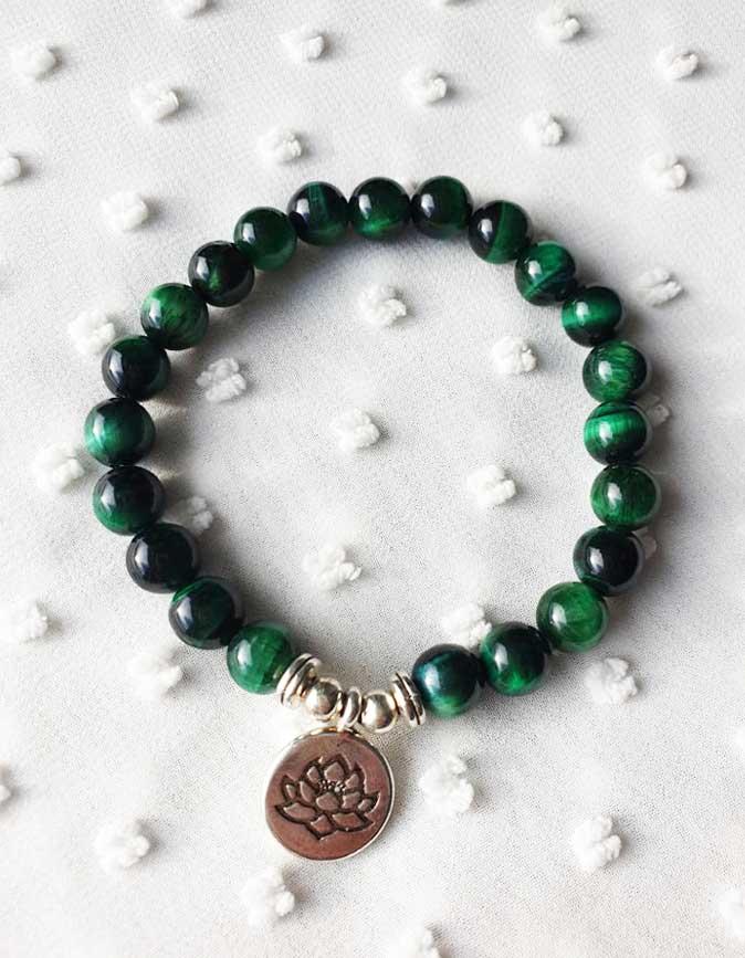 Yoga Armband-Malachit